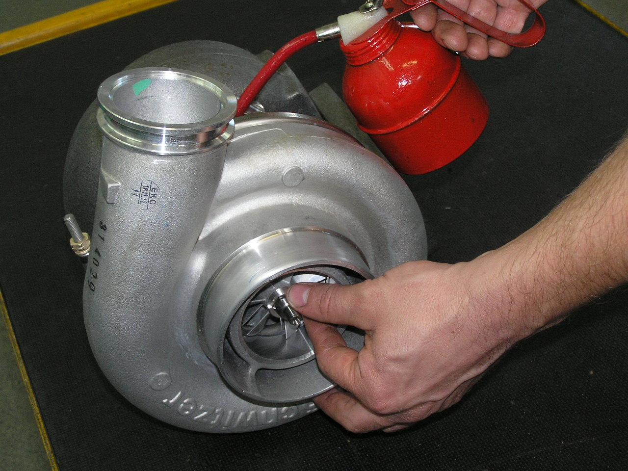 turbosprężarka montaż rys4