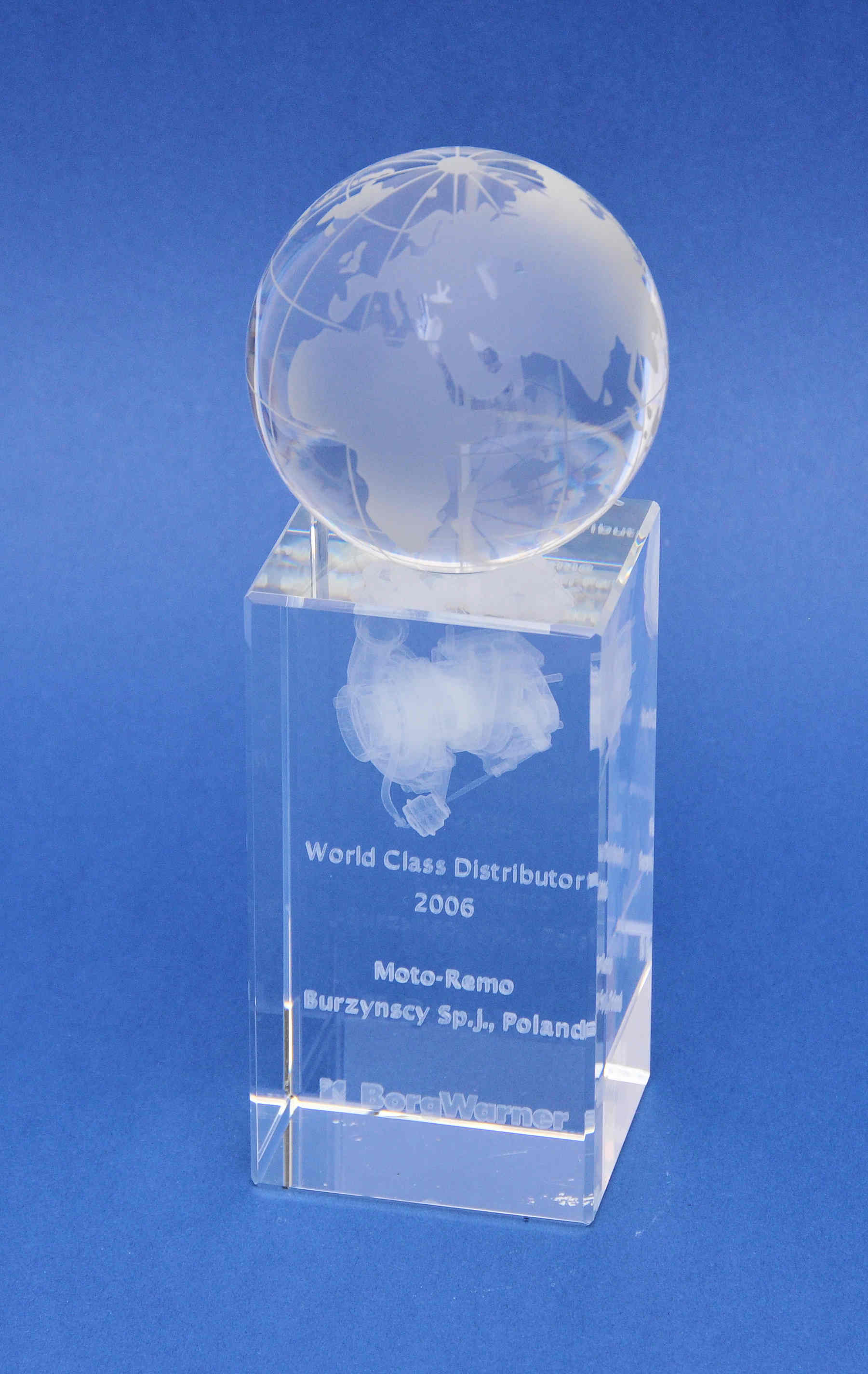 award borg warner 2006