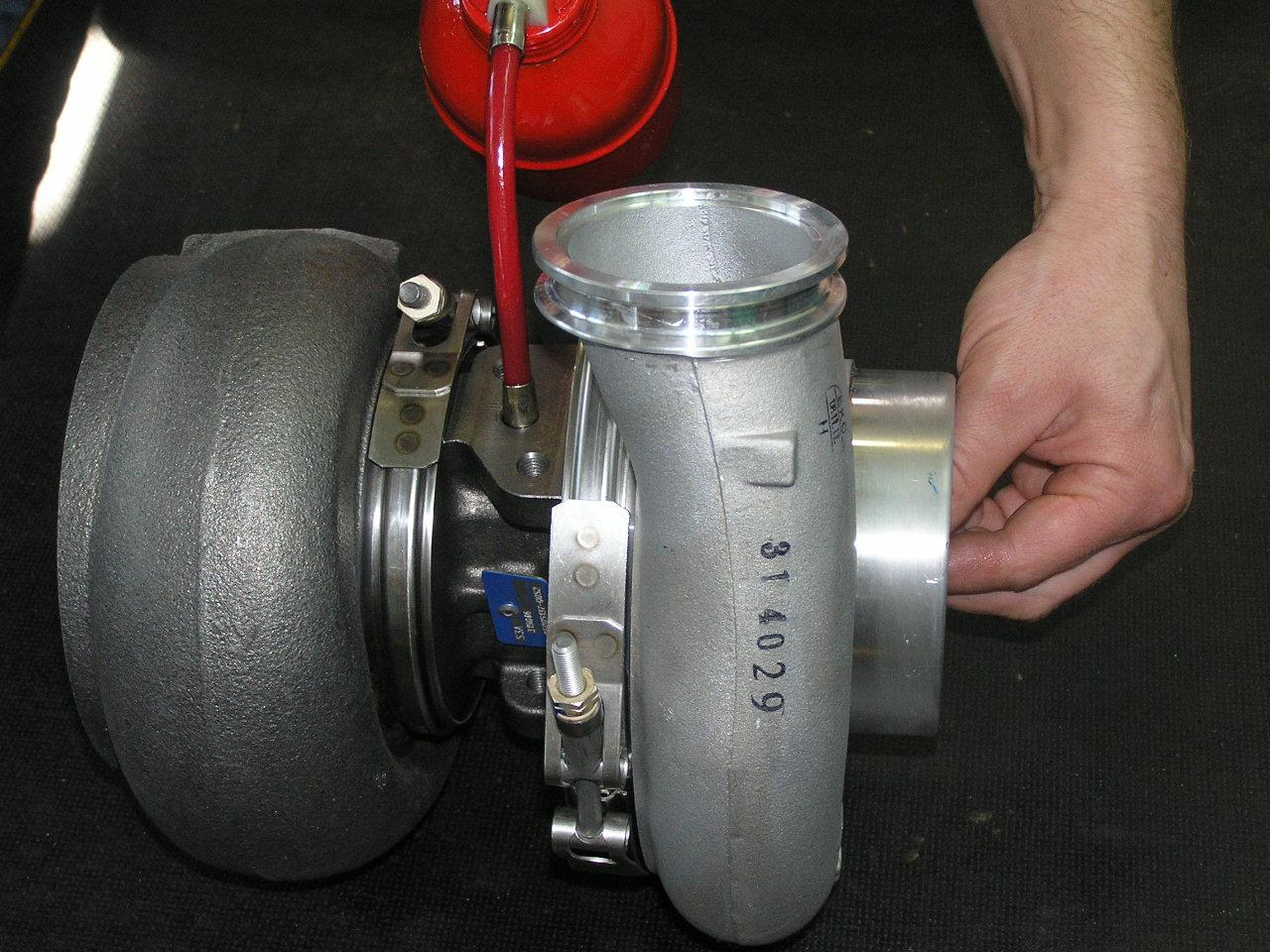turbosprężarka montaż rys3